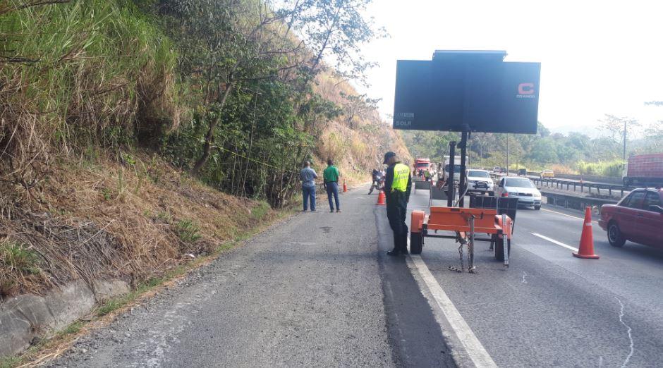 Identifican el cadáver encontrado en la vía hacia el Puente Centenario