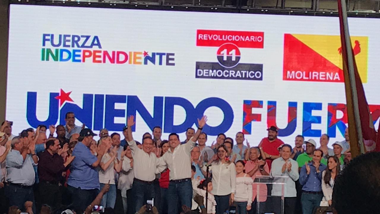 José Gabriel Carrizo será el compañero de fórmula del candidato presidencial Cortizo