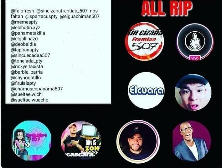 Hackean y cierran en masa cuentas de instagram de influencers panameños