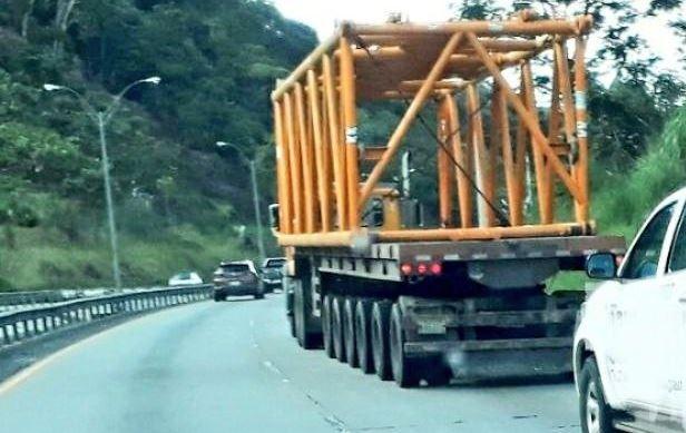 Traslado de carga sobredimensionada es restringida por días de Carnaval