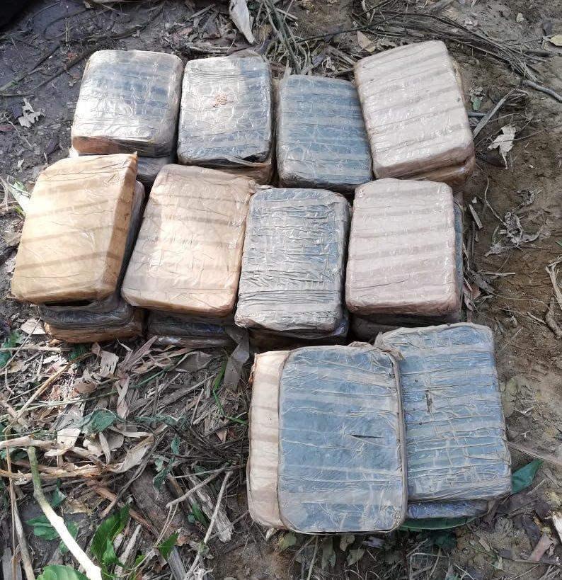 Decomisan 479 paquetes de drogas en Pacora y Betania