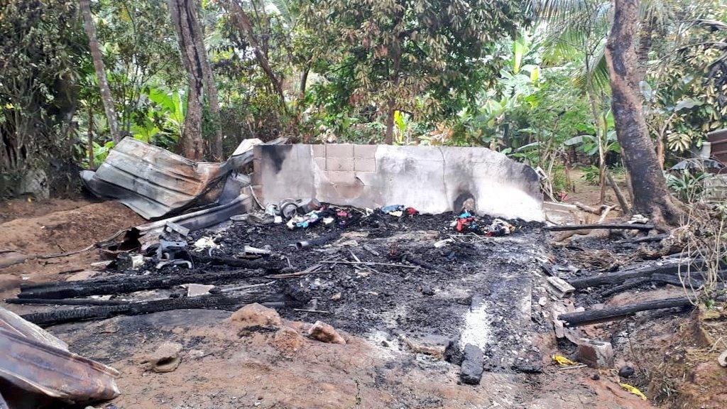 Dos niños mueren por quemaduras al incendiarse su casa en Colón