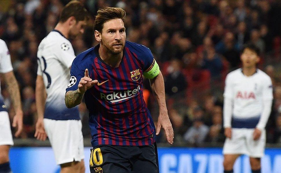 Valverde opta por dejar a Messi en el banquillo