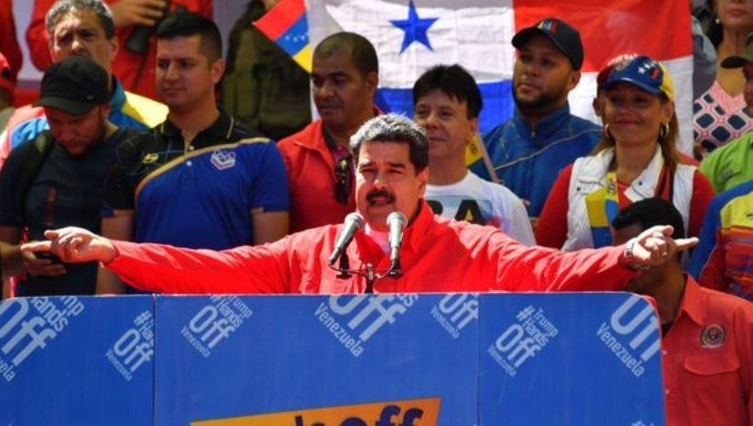 Representantes del FAD participan en acto de apoyo a Maduro en Venezuela