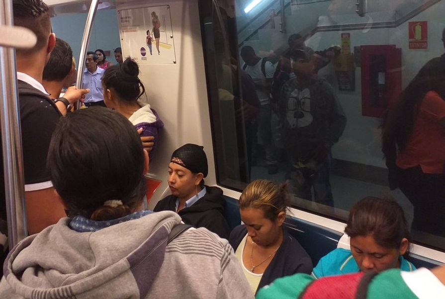Línea 1 supera percance y se restablece el funcionamiento en todas las estaciones