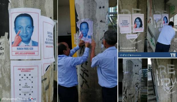 Tribunal Electoral continúa remoción de vallas de Movin y habilita dirección para denuncias