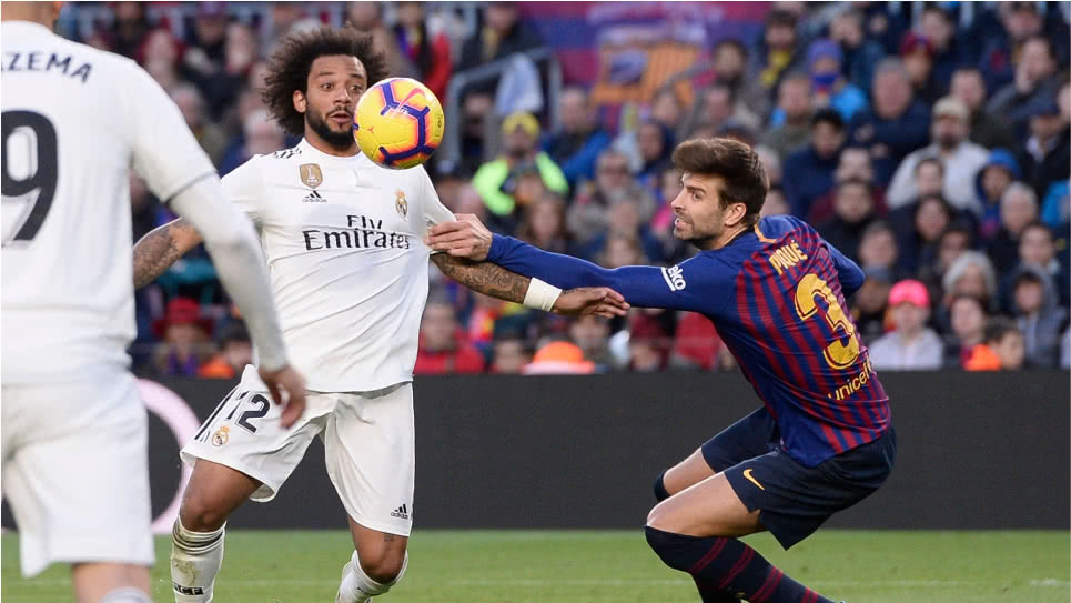 El 'clásico' Real Madrid-Barcelona en semifinales de la Copa del Rey