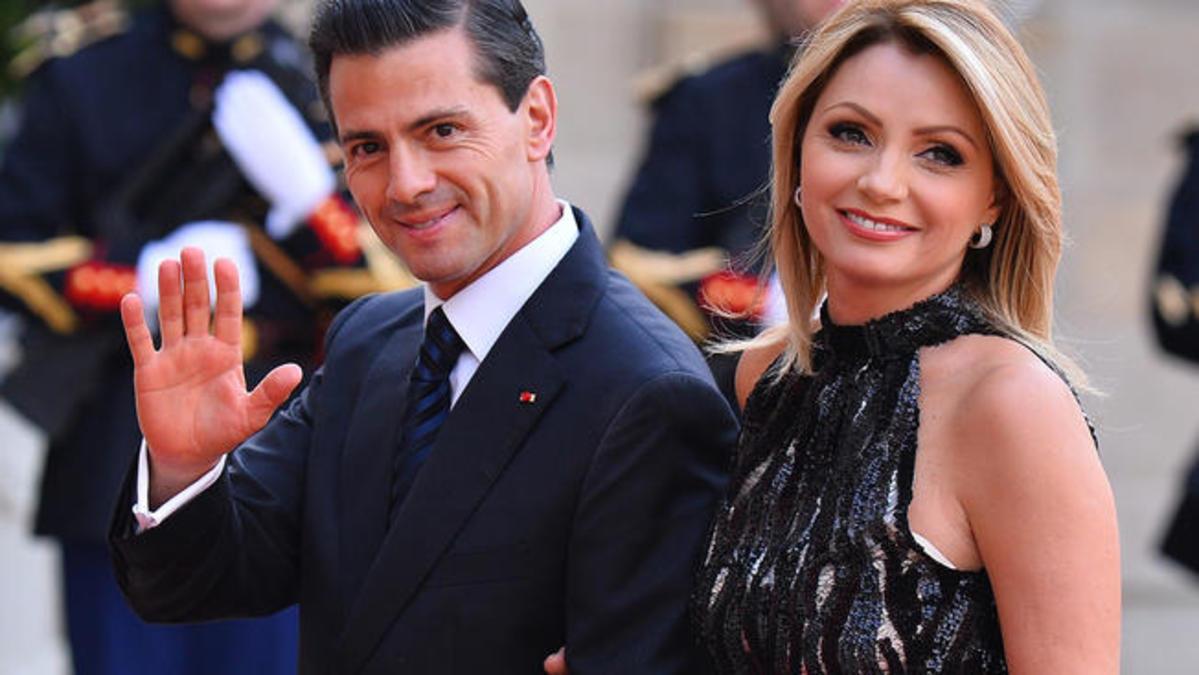 La actriz Angélica Rivera se divorcia de expresidente mexicano Peña Nieto