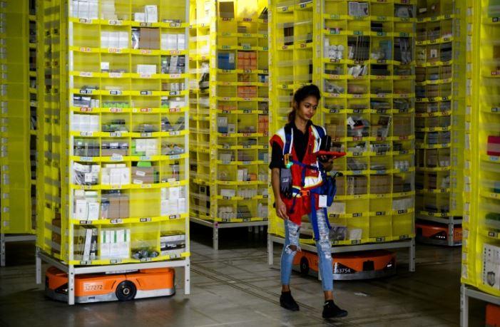 Los robots 'colaborativos' de Amazon un anticipo del futuro