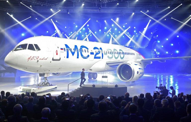 Aplazada la producción del avión ruso MC-21 por las sanciones de EEUU