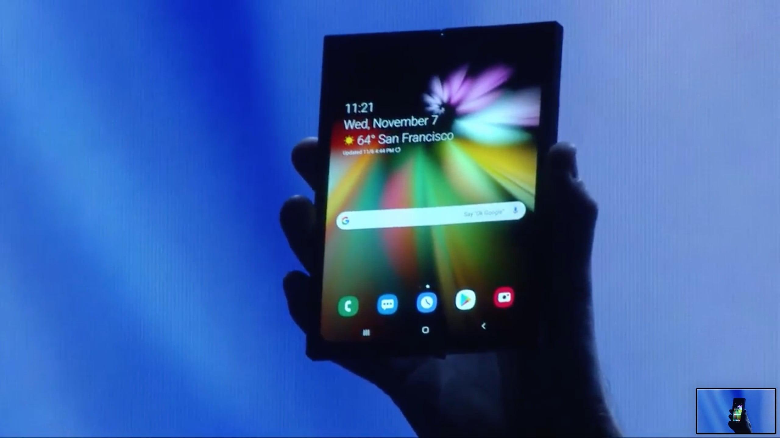 Samsung presenta el Galaxy Fold, su smartphone con pantalla plegable