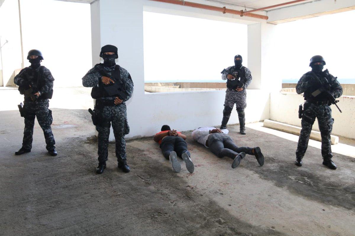 Legalizan aprehensión e imputan cargo a tres personas capturadas en Calzada de Amador