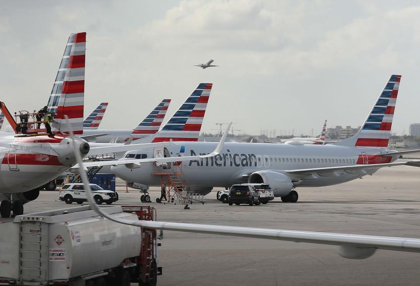 American Airlines sigue en rojo en tres primeros meses del año