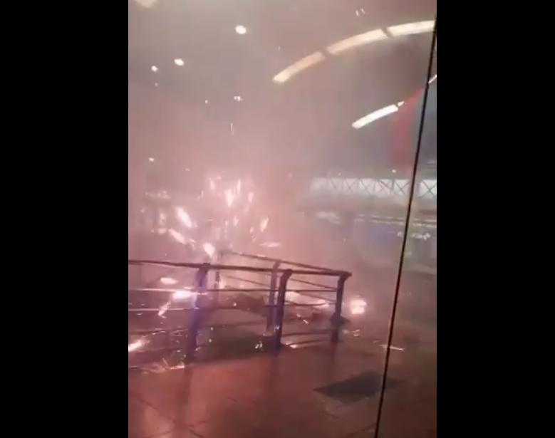 Identifican a los responsables de lanzar fuegos artificiales dentro de Albrook Mall