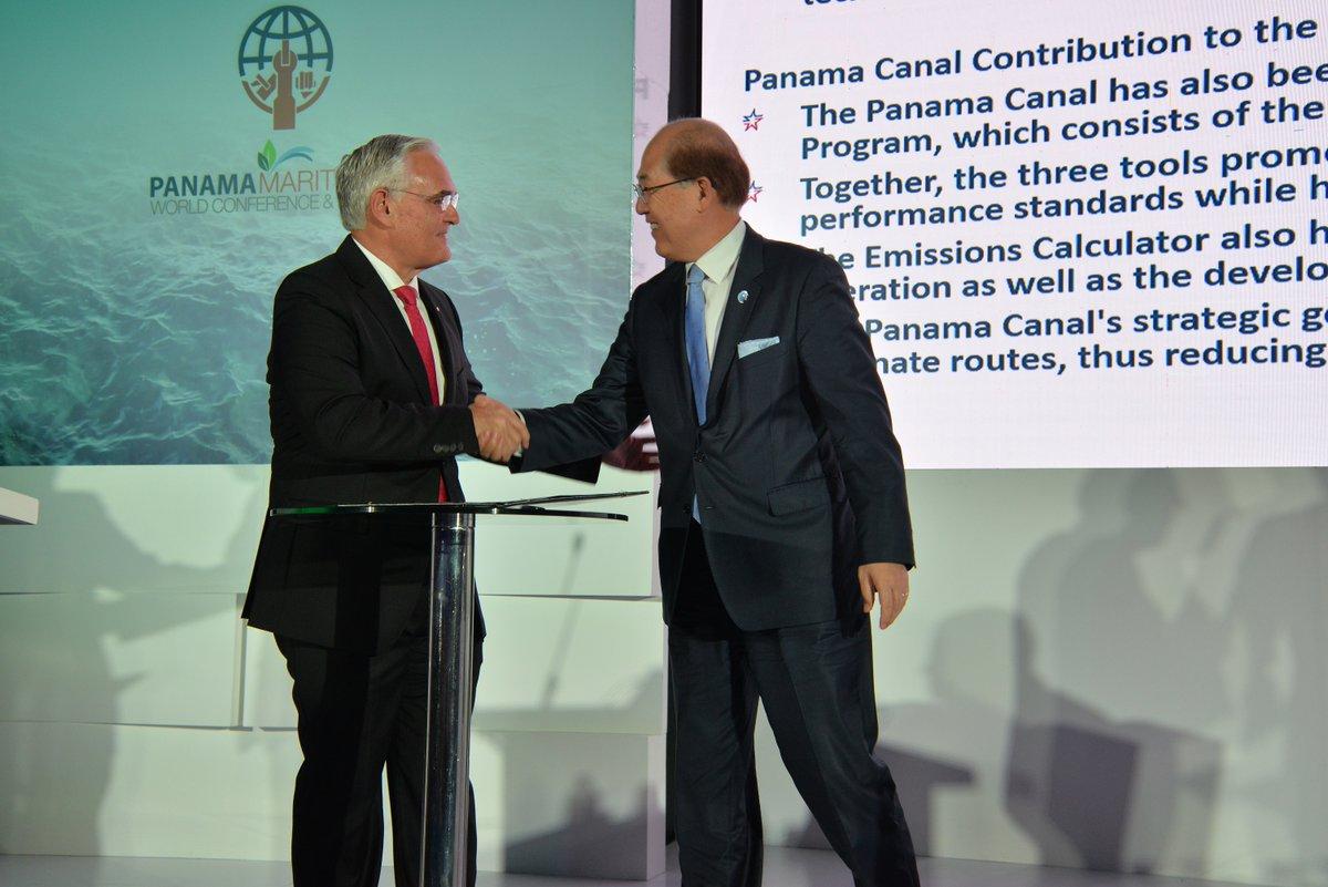 Canal de Panamá se une a la Global Industry Alliance para reducción de emisiones