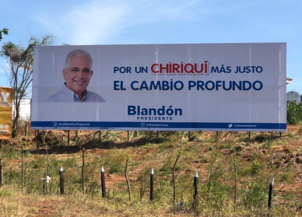 José Isabel Blandón se desvincula de los colores del Panameñismo