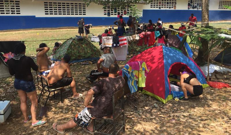 Defensoría del Pueblo analiza situación de los migrantes en Puerto Obaldía