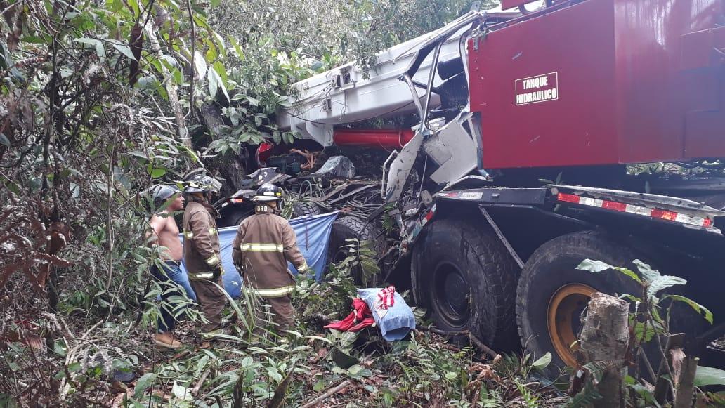 Muere una persona en accidente de un camión en Coclé