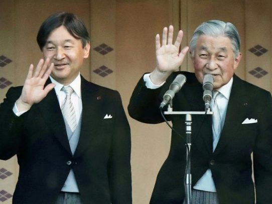 La abdicación del emperador de Japón pone fin a la era de Heisei