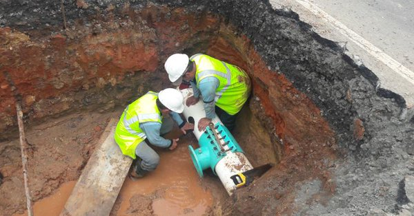 Sectores cercanos a la Vía Centenario estarán sin agua potables este viernes