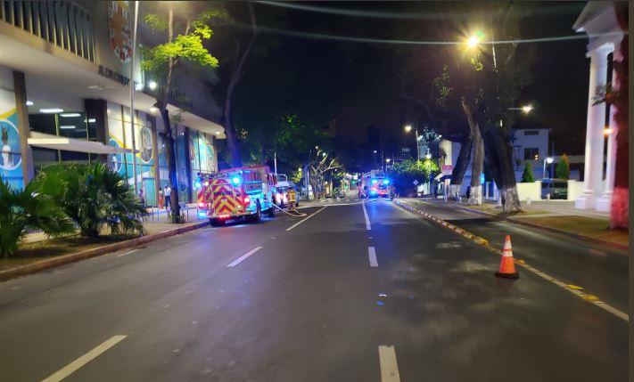CBP: Incendio en la Alcaldía de Panamá fue causado por un desperfecto eléctrico