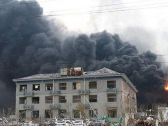 Cinco muertos en una explosión en una fábrica del este de China