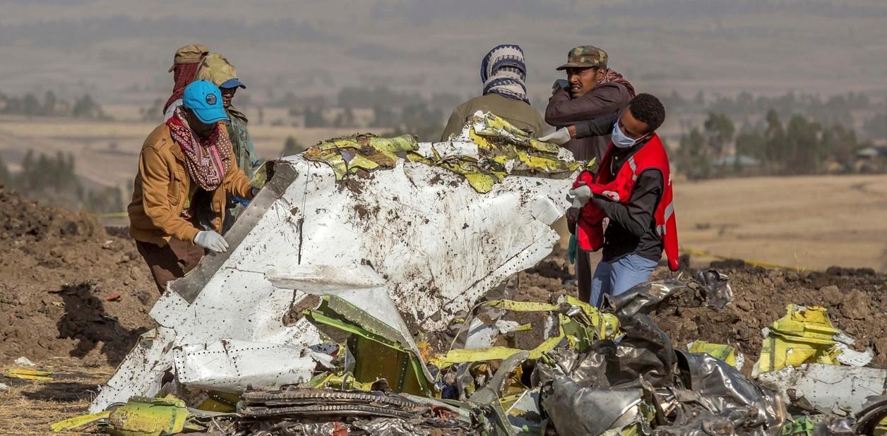 """Cajas negras de avión Ethiopian muestran """"semejanzas claras"""" con el accidentado de Lion Air"""