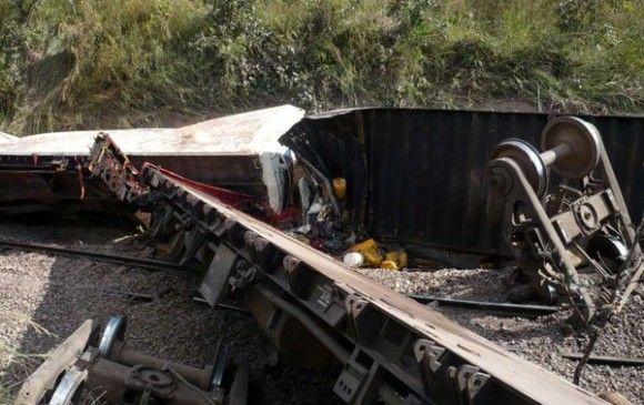 Al menos 32 muertos al descarrilar un tren en RD Congo