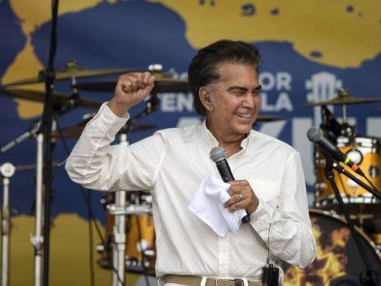 """Cantante """"Puma"""" Rodríguez piensa postularse a presidencia de Venezuela"""