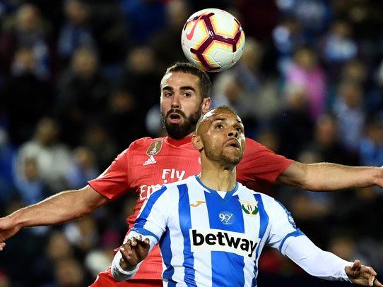 Real Madrid continúa ante Leganés con su calvario esta temporada
