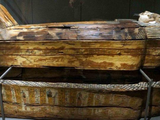 Un sarcófago egipcio será abierto en vivo en televisión
