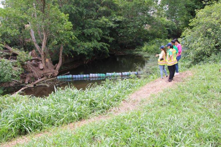 Presos de La Joyita elaboran y colocan barreras ecológicas en ríos Tocumen y Cárdenas