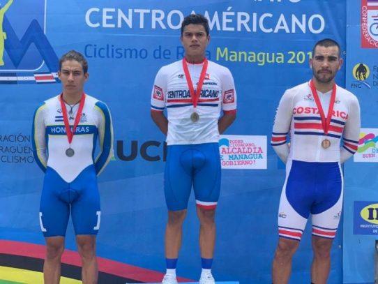 Panameños logran oro y plata en Centroamericano de Ciclismo