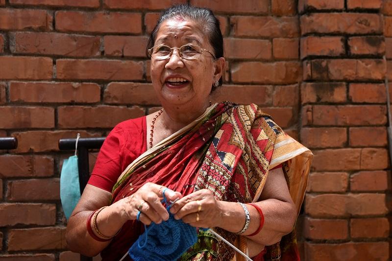 Calcetines muy especiales que cuentan la vida en Nepal