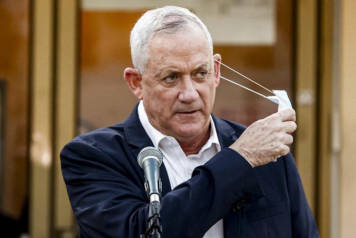 Gantz anuncia que apoyará la disolución del Parlamento israelí