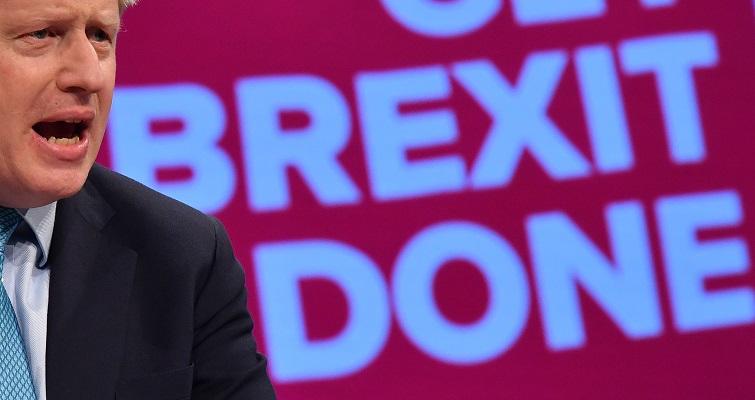 """Johnson insiste en que """"lo más probable ahora"""" es un Brexit sin acuerdo"""