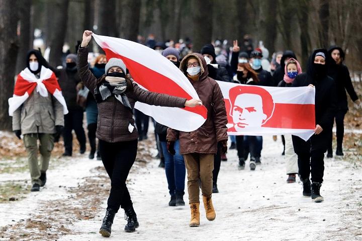 Manifestantes bielorrusos siguen exigiendo la renuncia de Lukashenko