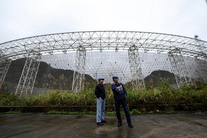 China inaugura en enero de 2021 el mayor radiotelescopio del mundo, de 500 metros de diámetro