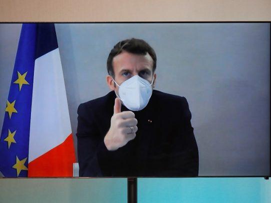 """Macron pide a su gobierno un """"refuerzo"""" de la seguridad tras escándalo Pegasus"""
