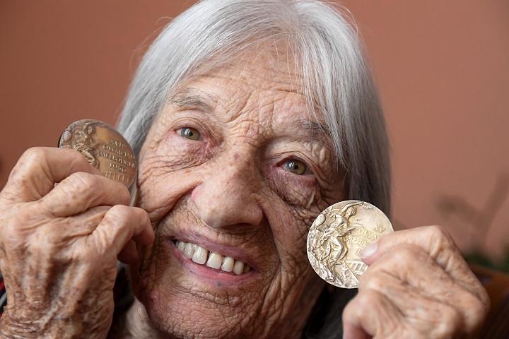 Agnes Keleti, una gloria olímpica a punto de cumplir 100 años