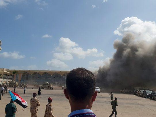 Al menos 26 muertos en Yemen tras explosiones en el aeropuerto de Adén