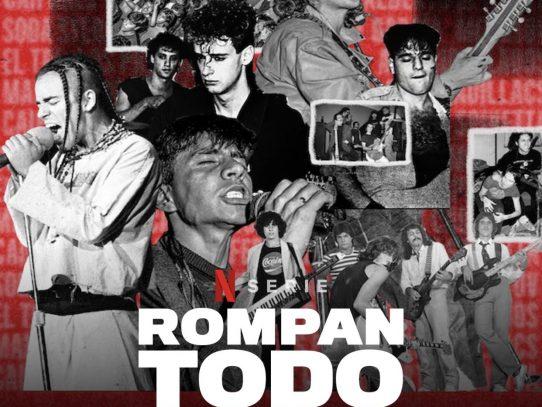 """""""Rompan todo"""" celebra la energía confrontacional del rock latino"""