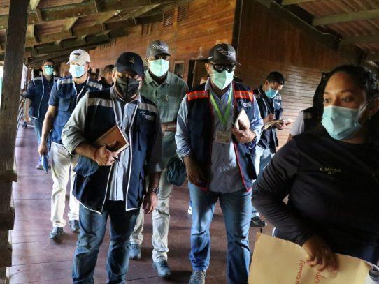 Defensoría del Pueblo inspecciona albergue de migrantes en Chiriquí