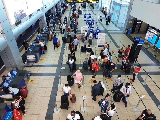 """""""Hub Panamá"""" movilizó cerca de un cuarto de millón de pasajeros en un mes"""