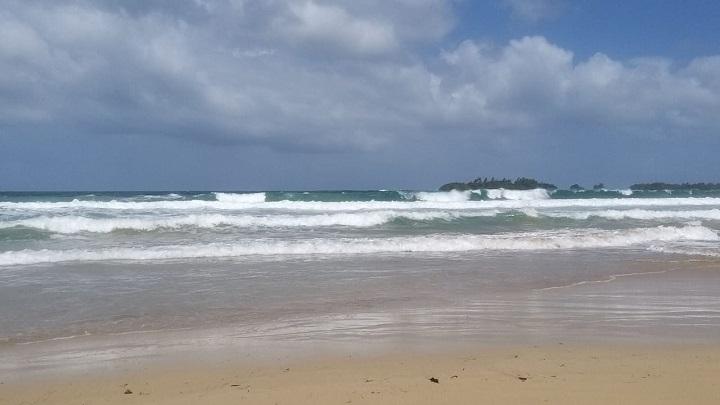 Aviso de prevención por oleajes fuertes hasta el 26 de diciembre