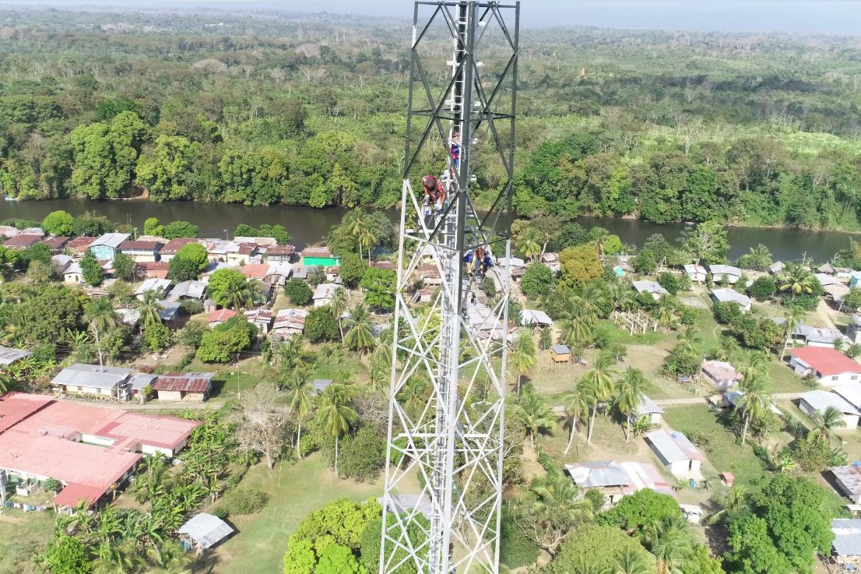"""""""Conectando y Transformando al Darién"""": proyecto de C&W Panamá y AIG"""