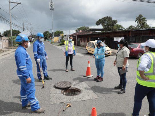 Verifican recorrido de descargas de las industrias ubicadas en Juan Díaz
