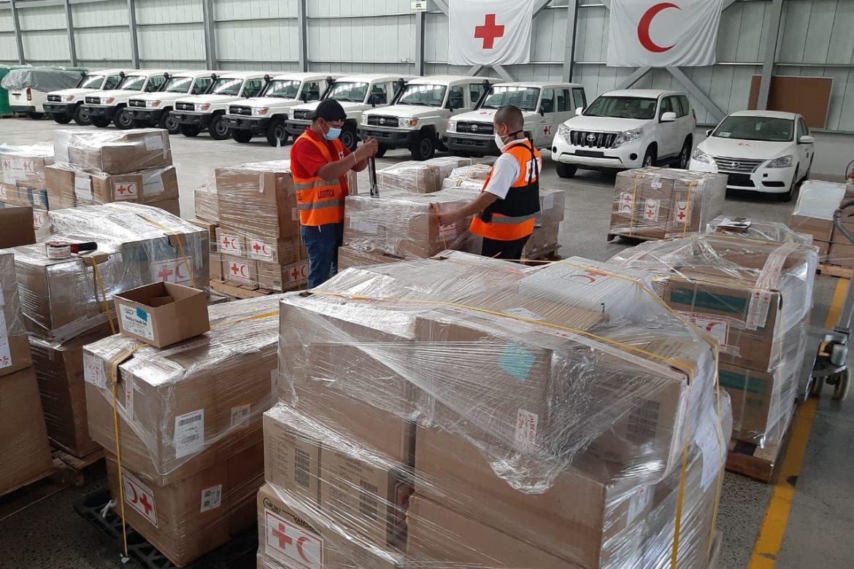 Aumenta envío de carga humanitaria a la luz de la pandemia y catástrofes