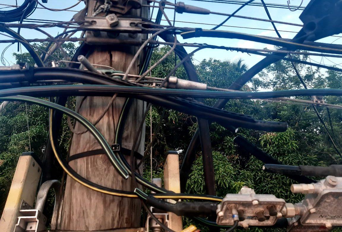 A prisión por hurto de cables eléctricos que dejó a más de 30 mil personas sin luz
