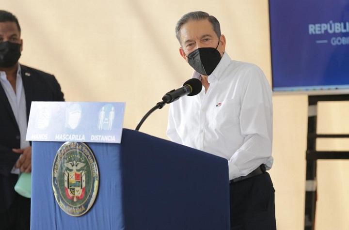 Presidente Cortizo afirma que cumplirá con las normas contra Covid-19